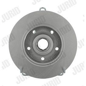 Bremsscheibe JURID Art.No - 561982JC OEM: 8D0615301B für VW, AUDI, SKODA, SEAT kaufen