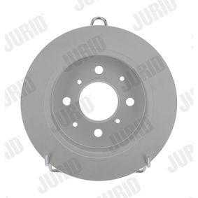 JURID Комплект спирачни дискове 562016JC