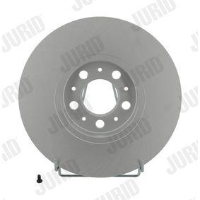 Bremsscheibe JURID Art.No - 562041JC OEM: 1J0615301C für VW, AUDI, SKODA, SEAT, PORSCHE kaufen
