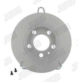 Bremsscheibe JURID Art.No - 562053JC OEM: 2Q0615601H für VW, AUDI, SKODA, SEAT kaufen