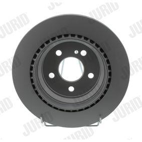 Bremsscheibe JURID Art.No - 562102JC OEM: 2104210812 für MERCEDES-BENZ kaufen