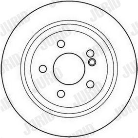 JURID Bremsscheibe 2104210812 für MERCEDES-BENZ bestellen