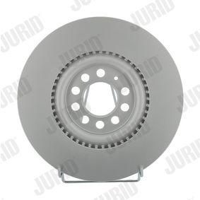 Bremsscheibe JURID Art.No - 562132JC OEM: 6R0615301B für VW, AUDI, SKODA, SEAT, ALFA ROMEO kaufen