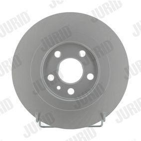 Bremsscheibe JURID Art.No - 562246JC OEM: 4246P4 für FIAT, PEUGEOT, CITROЁN, LANCIA kaufen