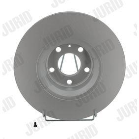 Bremsscheibe JURID Art.No - 562265JC OEM: 4F0615301E für VW, AUDI, SKODA, SEAT kaufen