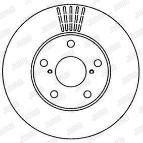 JURID Brake discs and rotors 562269JC