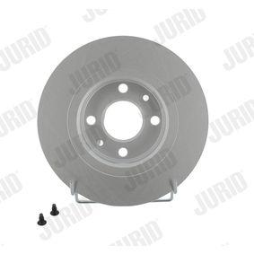 Bremsscheibe JURID Art.No - 562293JC OEM: 8200123117 für RENAULT, DACIA, RENAULT TRUCKS kaufen