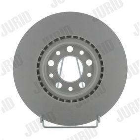 Bremsscheibe JURID Art.No - 562299JC OEM: 51767382 für FIAT, ALFA ROMEO, CHRYSLER kaufen