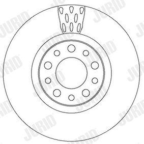 JURID Bremsscheibe 51767382 für FIAT, ALFA ROMEO, CHRYSLER bestellen