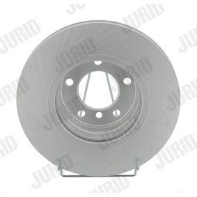Bremsscheibe JURID Art.No - 562320JC OEM: 34116764021 für BMW kaufen
