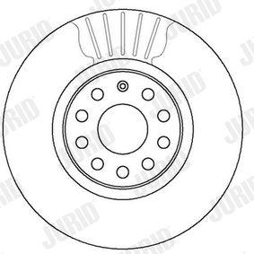 5Q0615301F pentru VW, AUDI, SKODA, SEAT, Disc frana JURID (562387JC) Magazin web