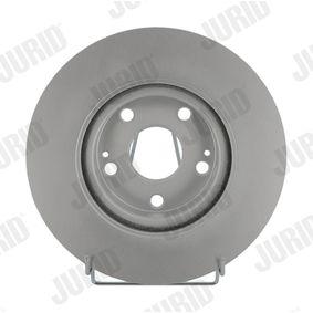 Bremsscheibe JURID Art.No - 562430JC OEM: 4351205080 für TOYOTA, LEXUS, WIESMANN kaufen