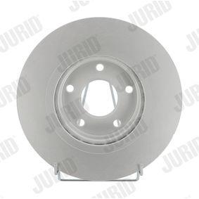 Bremsscheibe JURID Art.No - 562578JC OEM: 40206JD00B für NISSAN, INFINITI kaufen