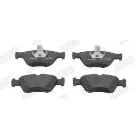 Bremsbelagsatz, Scheibenbremse JURID Art.No - 571877J kaufen