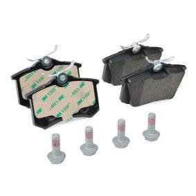 JURID Bremsbelagsatz, Scheibenbremse 5C0698451 für VW, AUDI, SKODA, SEAT, BENTLEY bestellen