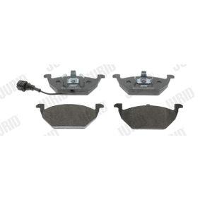 Bremsbelagsatz, Scheibenbremse JURID Art.No - 571971J OEM: 1K0698151J für VW, AUDI, SKODA, SEAT kaufen