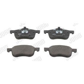 Bremsbelagsatz, Scheibenbremse JURID Art.No - 573003J OEM: 30793231 für VOLVO, SATURN kaufen
