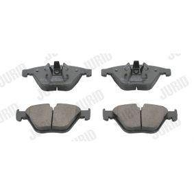 Bremsbelagsatz, Scheibenbremse JURID Art.No - 573181JC OEM: 34112288858 für BMW kaufen