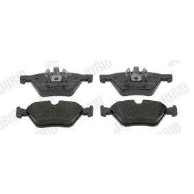 Bremsbelagsatz, Scheibenbremse JURID Art.No - 573187JC OEM: 34116777772 für BMW, ALPINA kaufen