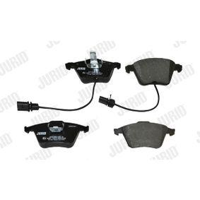 JURID Bremsbelagsatz, Scheibenbremse 4F0698151B für VW, AUDI, SKODA, SEAT bestellen