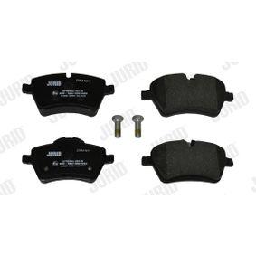 JURID Bremsbelagsatz, Scheibenbremse 34116778320 für BMW, KIA, MINI bestellen