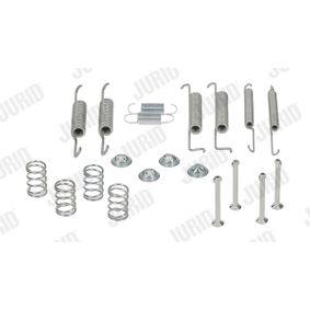 Zubehörsatz, Bremsbacken JURID Art.No - 771051J OEM: 321698545 für VW, AUDI, SKODA, SEAT, VOLVO kaufen