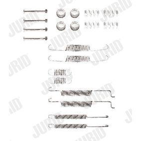 JURID Zubehörsatz, Bremsbacken 321698545 für VW, AUDI, SKODA, SEAT, VOLVO bestellen