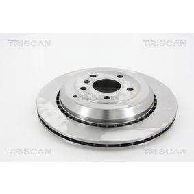 Спирачен диск TRISCAN Art.No - 8120 231001 OEM: A1644231312 за MERCEDES-BENZ, DAIMLER купете