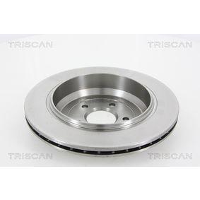 TRISCAN Спирачен диск A1644231312 за MERCEDES-BENZ, DAIMLER купете