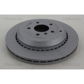 Спирачен диск TRISCAN Art.No - 8120 231001C OEM: A1644231312 за MERCEDES-BENZ, DAIMLER купете