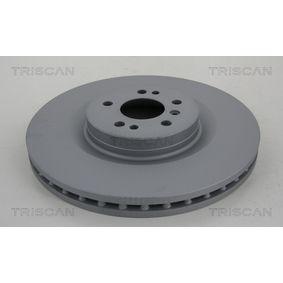 Спирачен диск TRISCAN Art.No - 8120 231002C OEM: A1644210512 за MERCEDES-BENZ купете