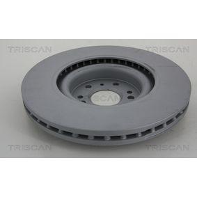 TRISCAN Спирачен диск A1644210512 за MERCEDES-BENZ купете
