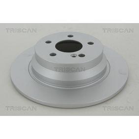 Bremsscheibe TRISCAN Art.No - 8120 23163C OEM: A2114230712 für MERCEDES-BENZ kaufen