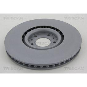 TRISCAN Bremsscheiben 8120 24148 für OPEL CORSA 1.2 75 PS kaufen