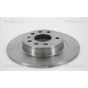 Bremsscheibe TRISCAN Art.No - 8120 24153 OEM: 93184247 für OPEL, DODGE, VAUXHALL, HOLDEN kaufen