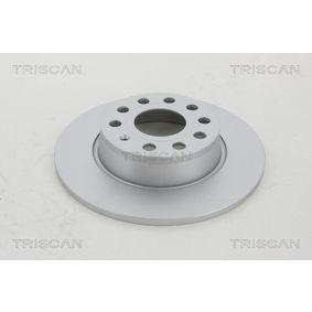 Bremsscheibe TRISCAN Art.No - 8120 291043C OEM: 1K0615601AA für VW, AUDI, SKODA, SEAT, PORSCHE kaufen