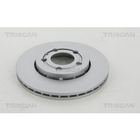 Bremsscheibe TRISCAN Art.No - 8120 29146C OEM: 8Z0615301D für VW, AUDI, SKODA, SEAT, SMART kaufen
