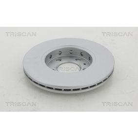 TRISCAN Bremsscheibe JZW615301N für VW, AUDI, SKODA, SEAT bestellen