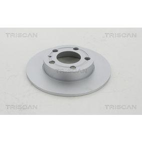 Bremsscheibe TRISCAN Art.No - 8120 29148C OEM: 1J0615601 für VW, AUDI, SKODA, SEAT, PORSCHE kaufen