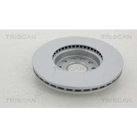 TRISCAN Disc frana JZW615301H pentru VW, AUDI, SKODA, SEAT cumpără