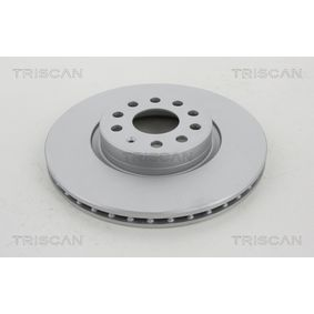 Bremsscheibe TRISCAN Art.No - 8120 29193C OEM: 5C0615301B für VW, AUDI, SEAT, SKODA kaufen