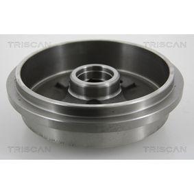 TRISCAN Bremstrommel 1H0501615B für VW, AUDI, SKODA, SEAT bestellen