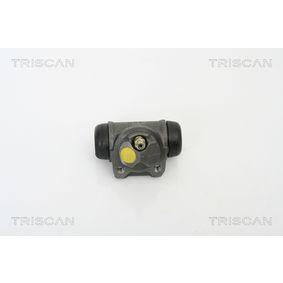 Bremsscheibe TRISCAN Art.No - 8120 68118 OEM: 26700AE080 für SUBARU kaufen