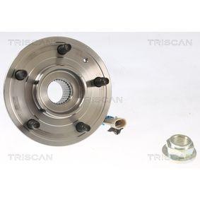 TRISCAN Radlagersatz 20863127 für OPEL, SKODA, CHEVROLET, FORD USA, DAEWOO bestellen