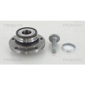 Kit de roulement de roue TRISCAN Art.No - 8530 29228 OEM: 8S0598611 pour VOLKSWAGEN, AUDI, SEAT, SKODA récuperer