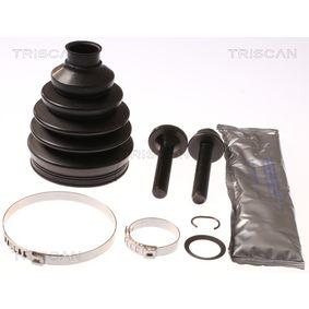 Faltenbalgsatz, Antriebswelle TRISCAN Art.No - 8540 29827 OEM: 3B0498203A für VW, AUDI, SKODA, SEAT kaufen