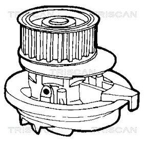 TRISCAN Wasserpumpe 1334014 für OPEL, FORD, BEDFORD, VAUXHALL bestellen