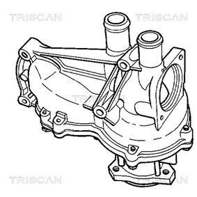 TRISCAN Wasserpumpe 056121013A für VW, AUDI, SKODA bestellen