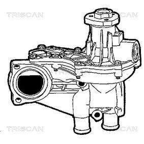 TRISCAN Wasserpumpe 1212732 für FORD bestellen