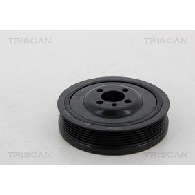 TRISCAN Kurbelwellenriemenscheibe 8643 29001 für VW TOURAN 1.9 TDI 105 PS kaufen